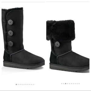 NIB UGG Women's Bailey Button Triplet Boot